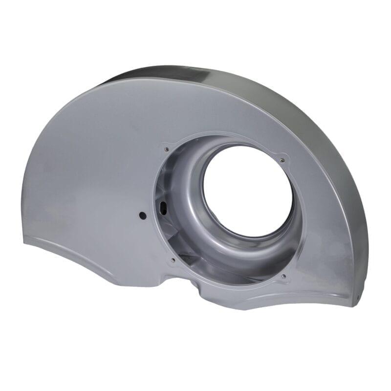 Doghouse Fan Shroud - Porsche Silver Powder Coating