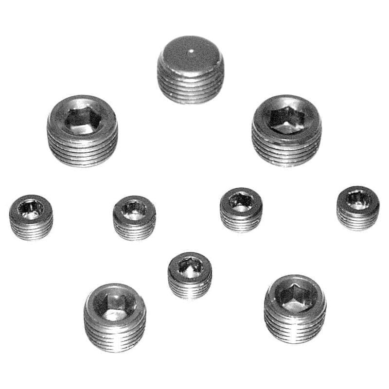 Aluminum Oil Galley Plug Kit