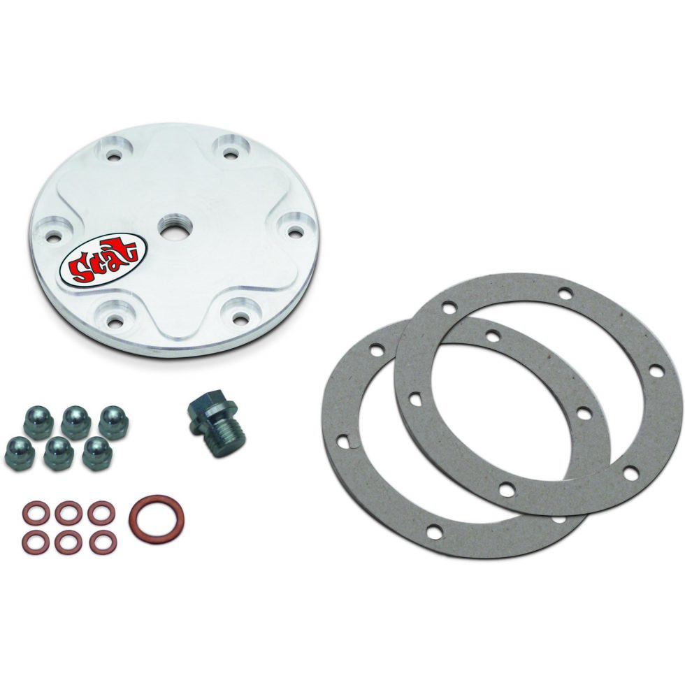 Billet 6061-T6 Oil Drain Plate Kit