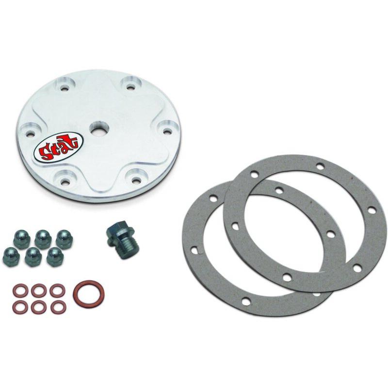 Billet 6061-T6 Oil Drain Plate Kit