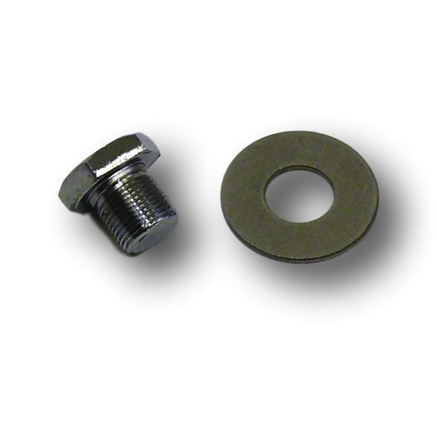 Chrome Pulley Bolt & Washer