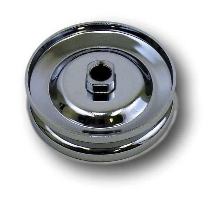 Chrome 12-Volt Alternator/Generator Pulley