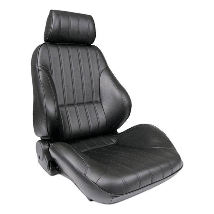 Rally® - Black Leather