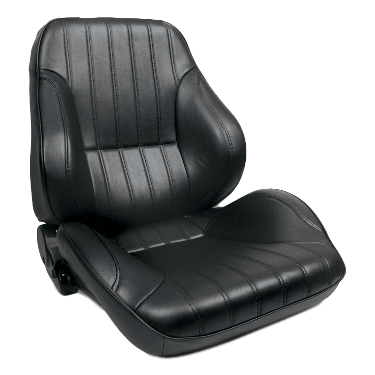 Rally® Lowback™ - Black Leather