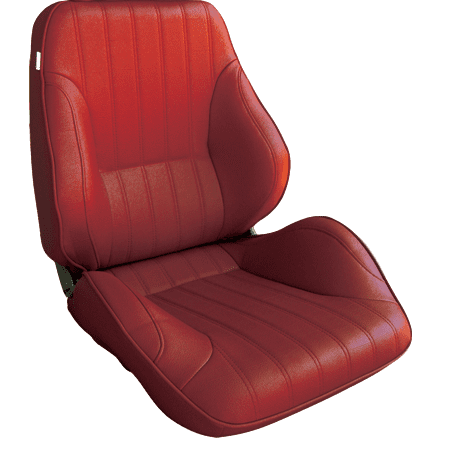 Rally® Lowback™ - Red Vinyl