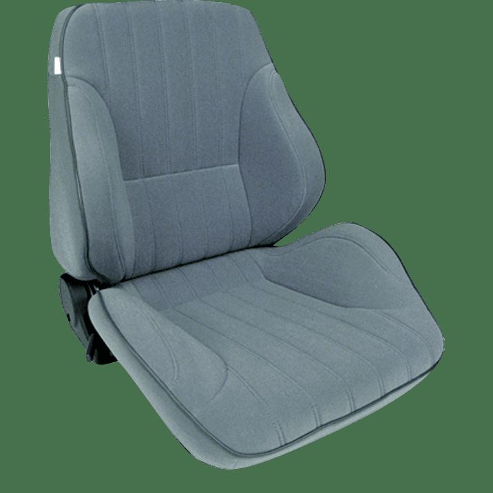 Rally® Lowback™ - Grey Velour