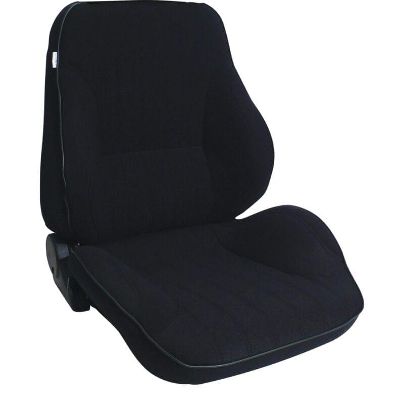 Rally® Lowback™ - Black Velour