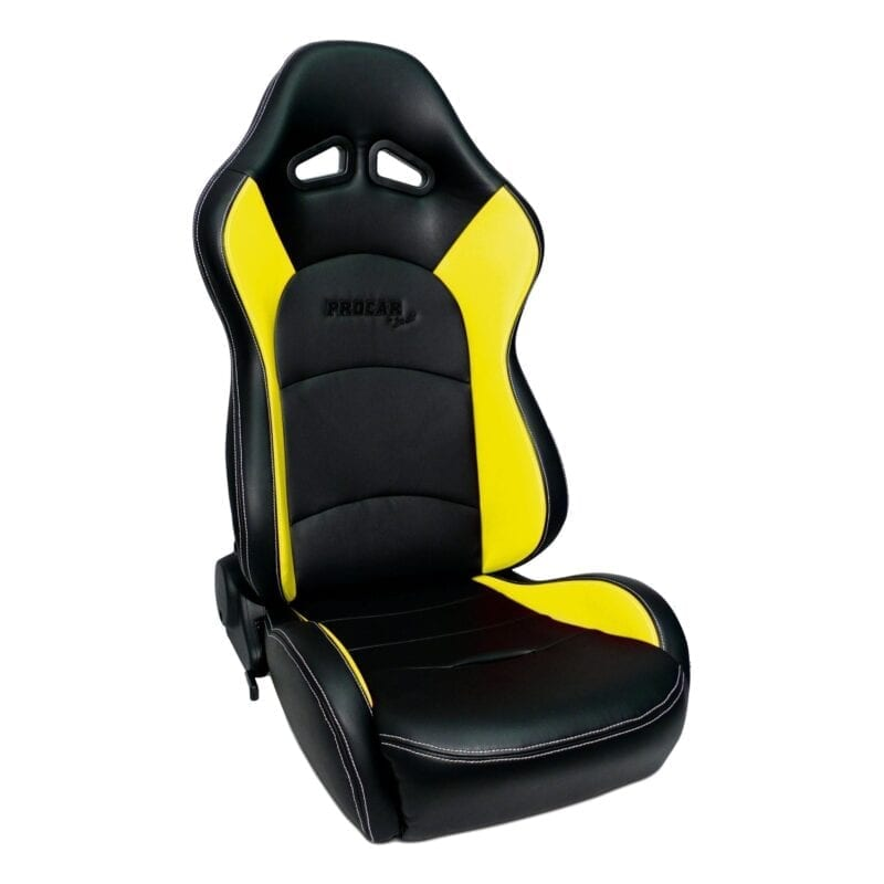 Evolution™ - Black Vinyl with Yellow Vinyl Trim