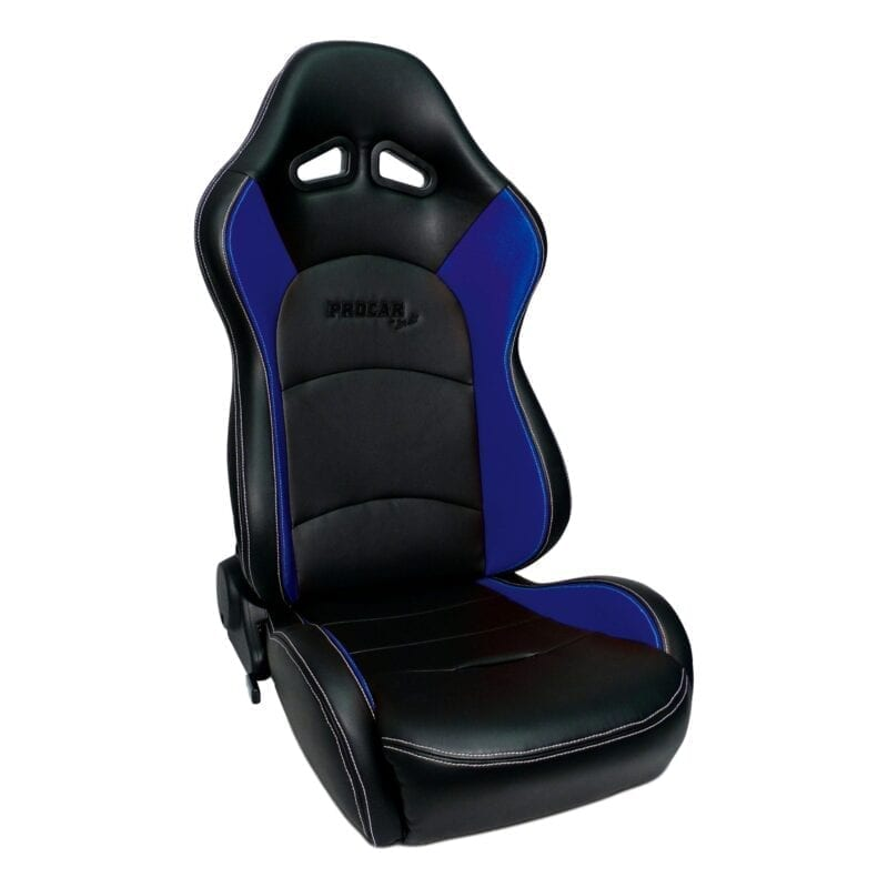 Evolution™ - Black Vinyl with Blue Vinyl Trim