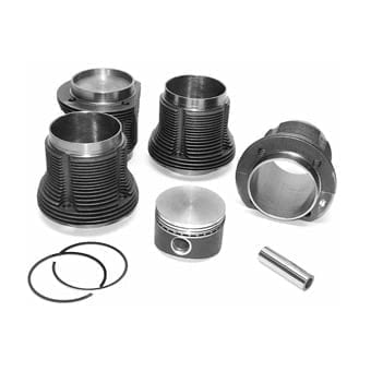 Mahle Type 1-3 Forged Piston & Cylinder Kit
