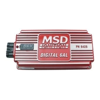 MSD6AL - same as MSD6A Control Unit but includes a MSD Exclusive soft-touch Rev-Control Dial to adjust rev limit