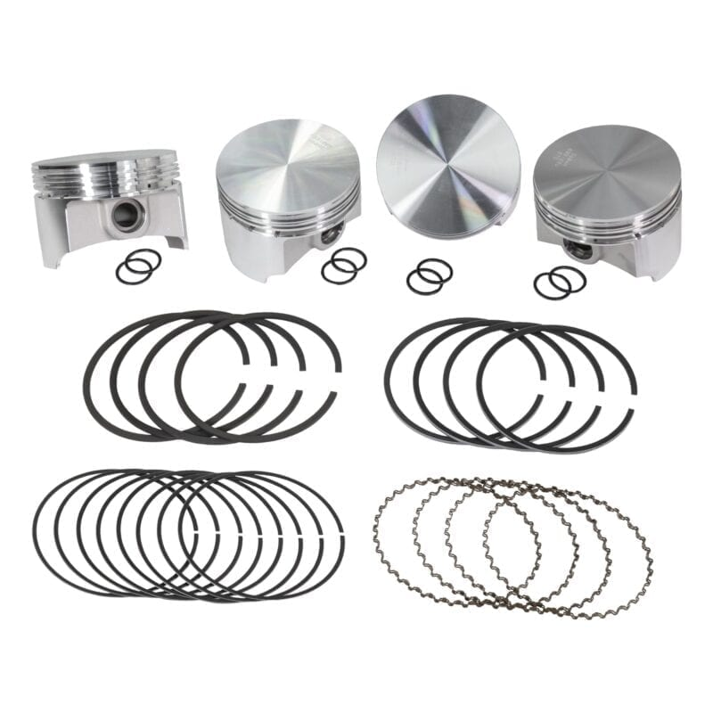 Wiseco Forged 94mm Pistons without Valve Pockets and 2x2x4 Ring Set