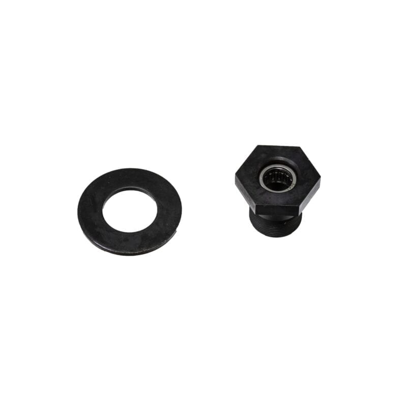 "Chromoly 1-1/2"" Hex Gland Nut & Washer"