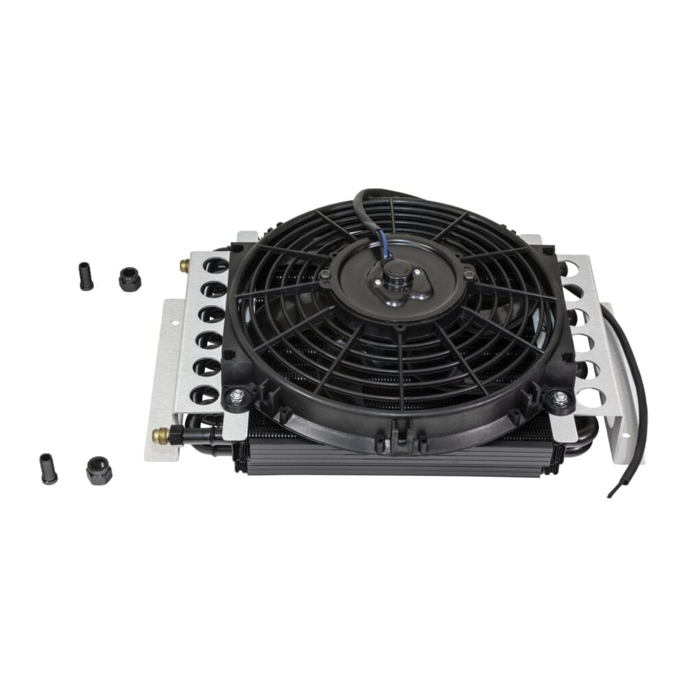 Electra-Cool Remote Oil Cooler with Electric Fan