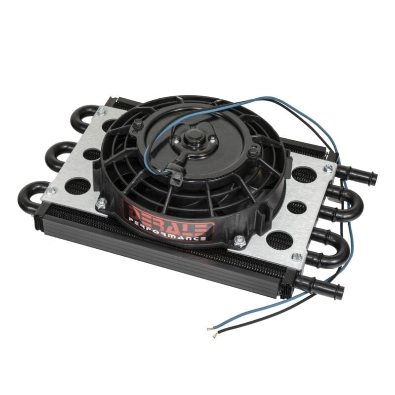 Fan-Mounted Oil Cooler
