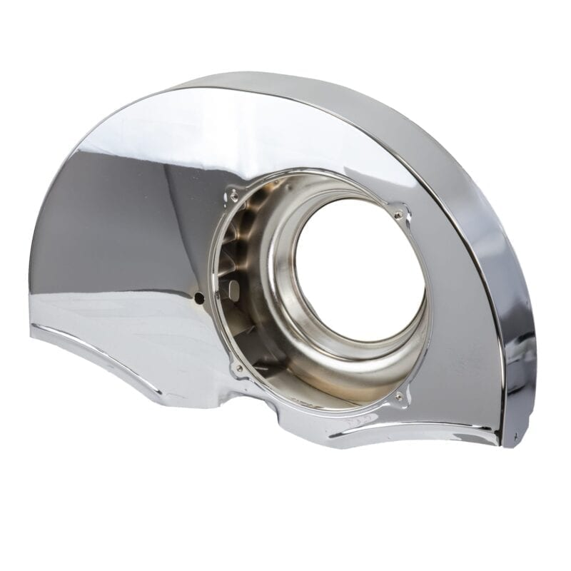 Doghouse Fan Shroud without Air Ducts - Chrome