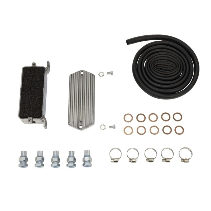 Universal Oil Breather Box Kit