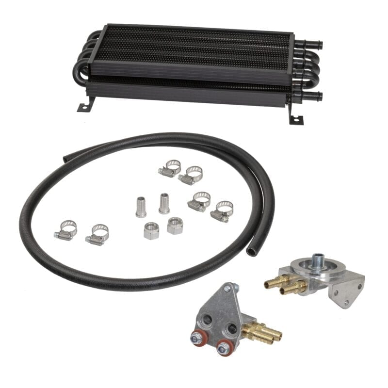 Oil Cooler Kit with Slip-On Ends