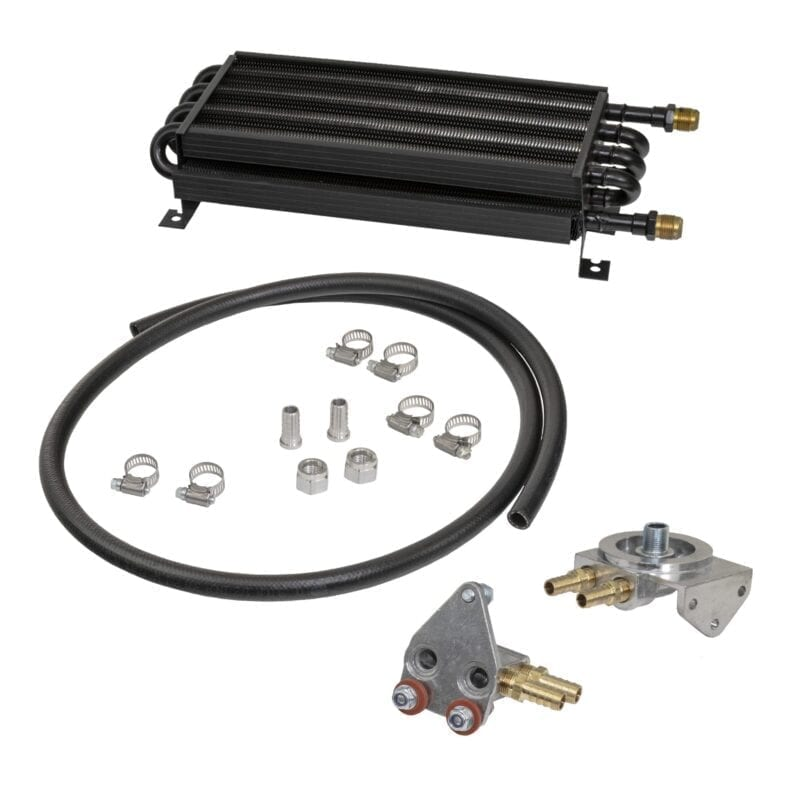 Oil Cooler Kit with -8AN Male Ends