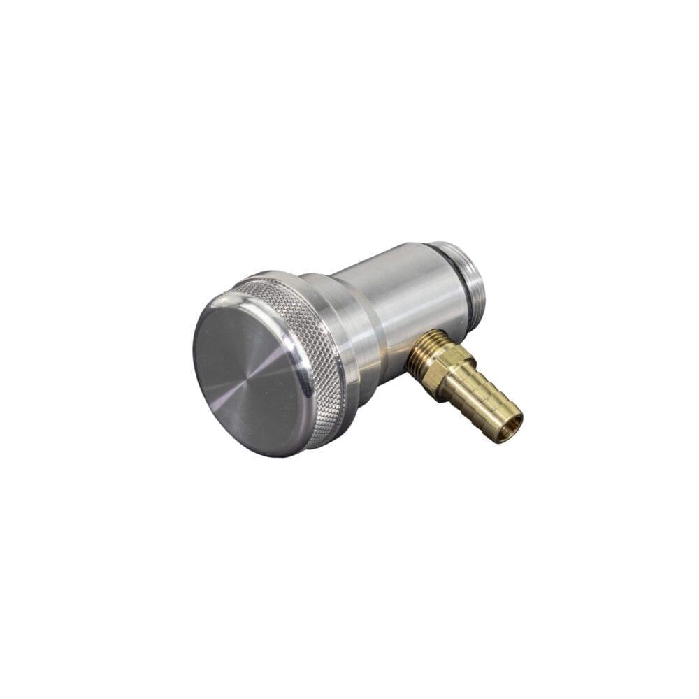 Billet 6061-T6 Cap & Polished Oil Filler Extender