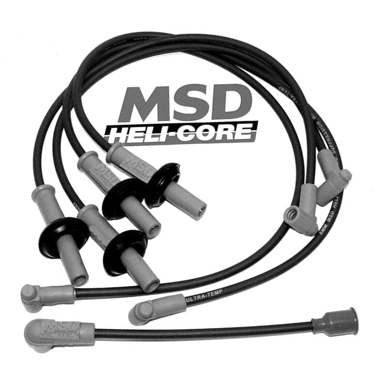 MSD HELI-CORE IGNITION WIRE SET