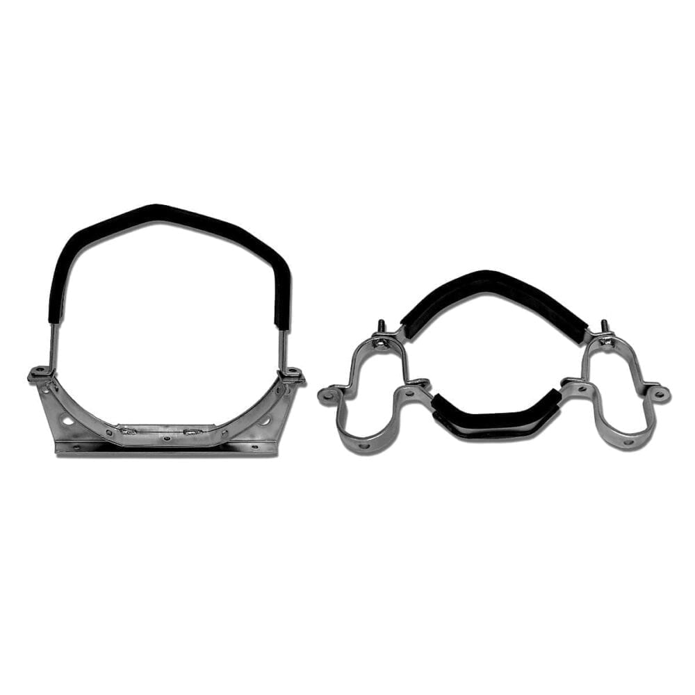 PADDED TRANS. SADDLE AND STRAP MOUNT