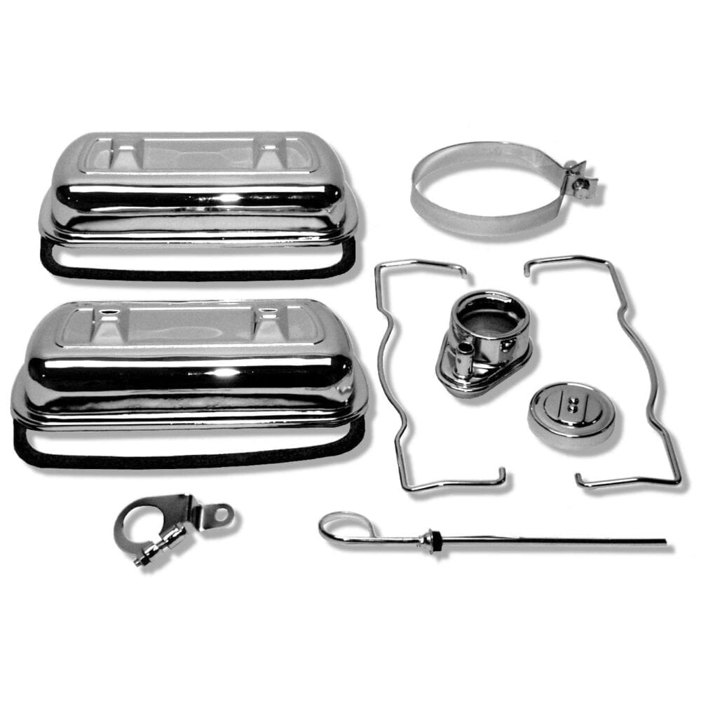 SCAT CHROME ENGINE DRESS-UP KITS