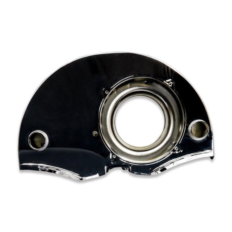 36HP Style Fan Shroud with Air Ducts - Chrome