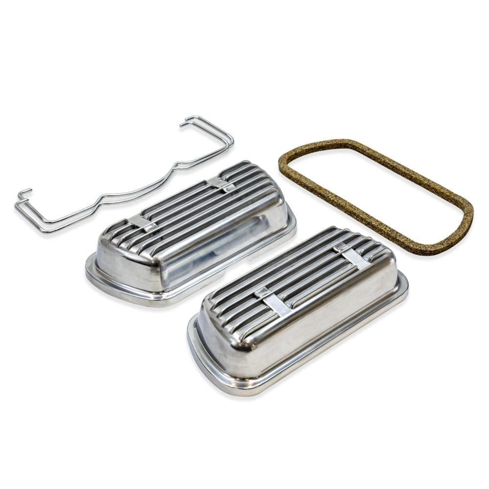 Clip-On Aluminum Valve Covers