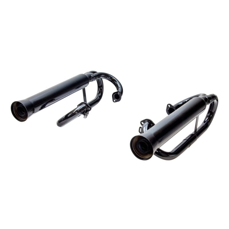Exhaust with Muffler Inserts