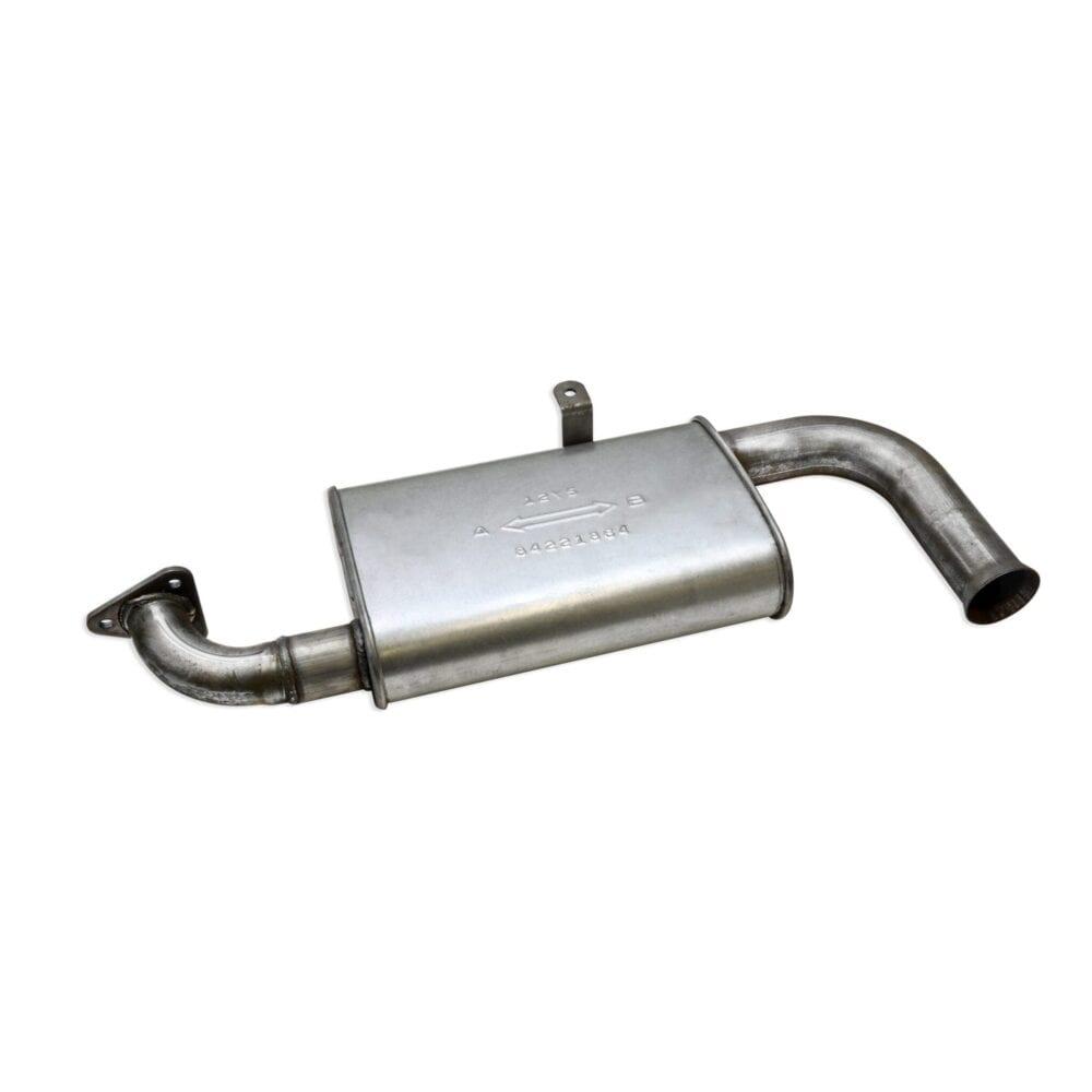 Single Quiet Muffler for Merge Exhaust