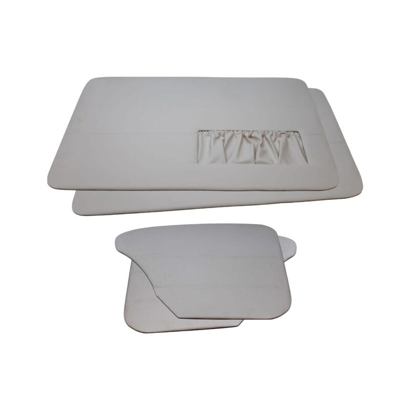 Door Panels - VW '65-'66 Sedan T1 - Grey Vinyl