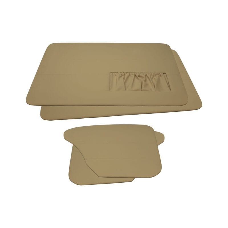Door Panels - VW '65-'66 Sedan T1 - Beige Vinyl