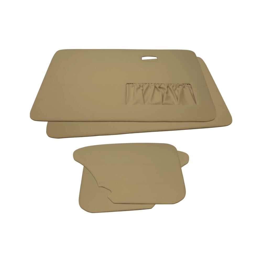 Door Panels - VW '67-'77 Convertible T1 - Beige Vinyl