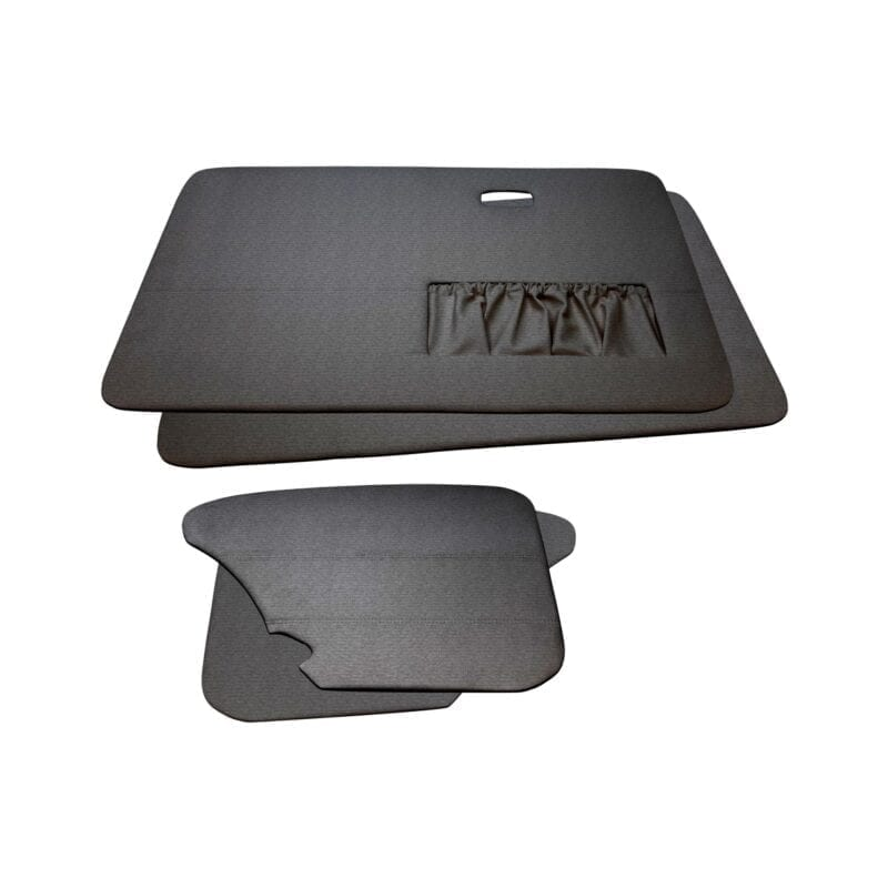 Door Panels - VW '67-'77 Sedan T1 - Grey Velour
